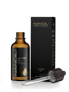 Jojobaöl von Nanoil zur Haarpflege